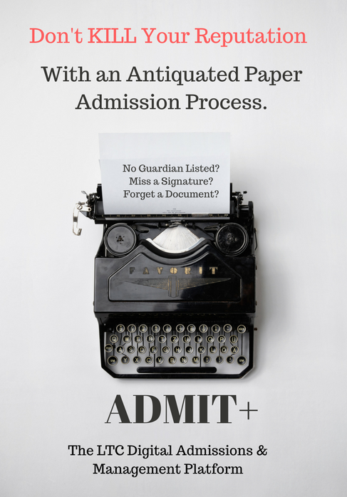 LTC Study: How is Admissions Data Captured?