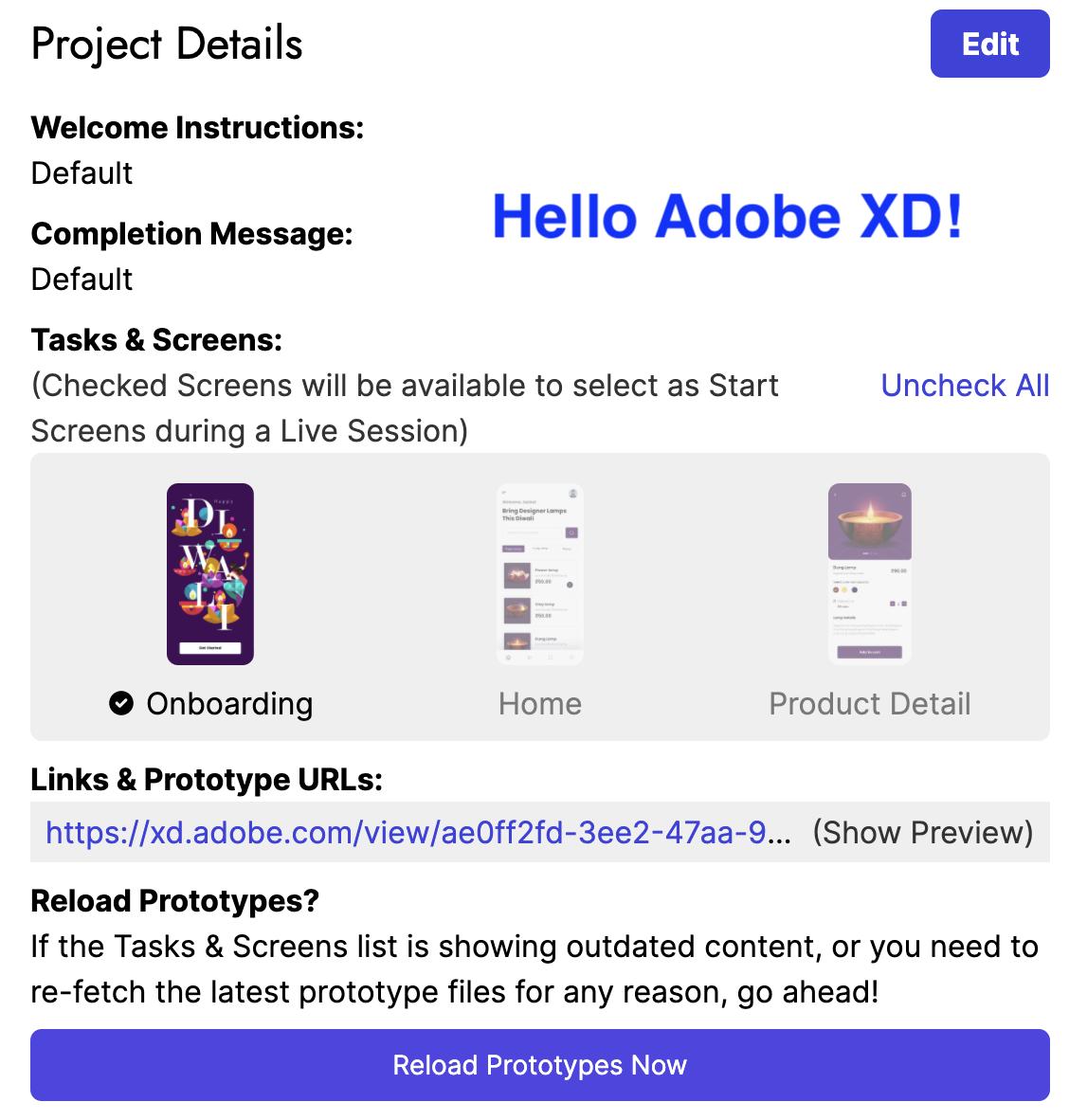 Hello Adobe XD integration!