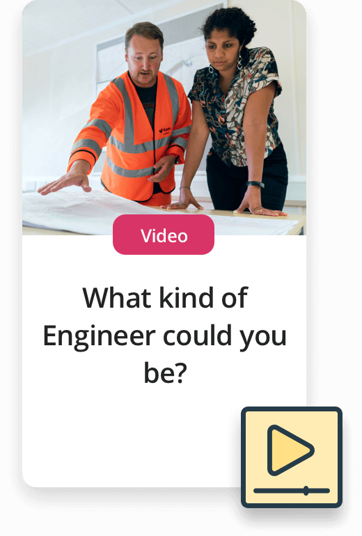 Upcoming Experiences. Video - What kind of engineer could you be