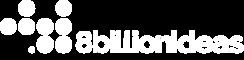 8billionideas logo white