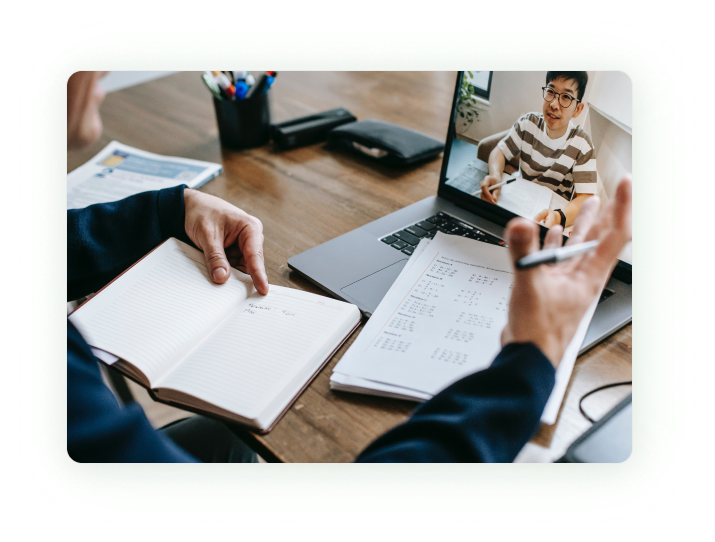 online mentoring image