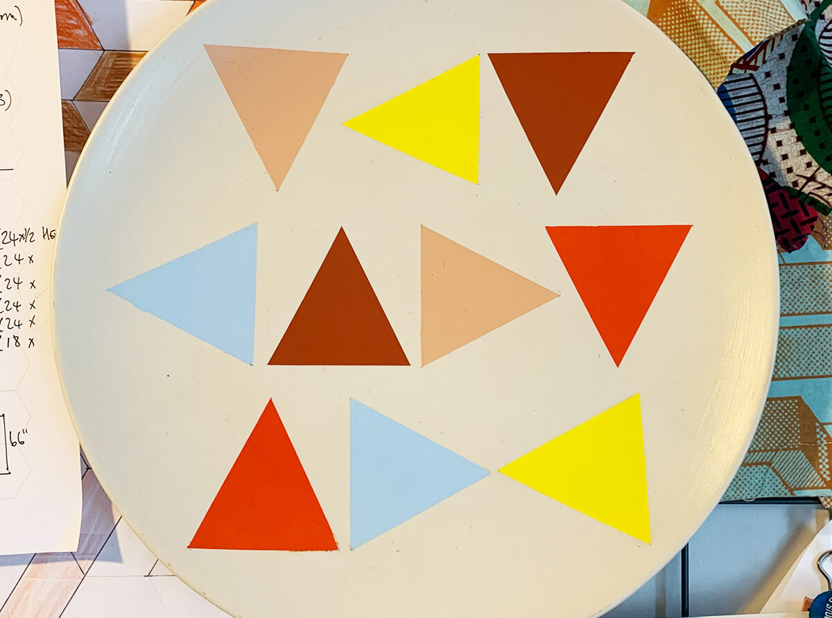Is it a quilt? Is it a plate?