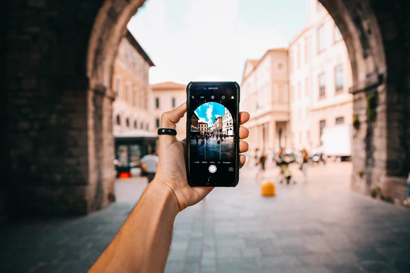 Kan man spela in reklamfilm med sin iphone?