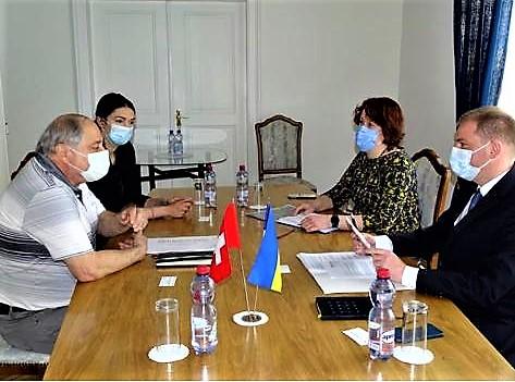 Besuch bei der ukrainischen Botschaft in Bern