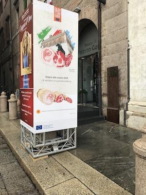 """""""COMUNICARE EMOZIONI"""" EUROPE, OPEN AIR TASTE MUSEUM a Coppa d'oro 2019"""