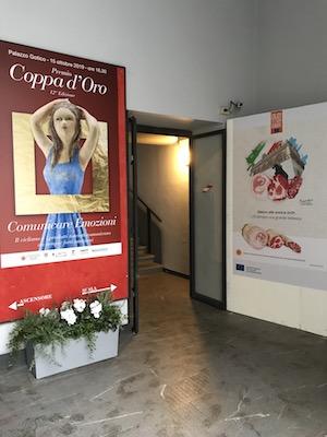"""""""PREMIO COPPA D'ORO 2019"""" Prodotti DOP e sport per promuovere il nostro territorio"""