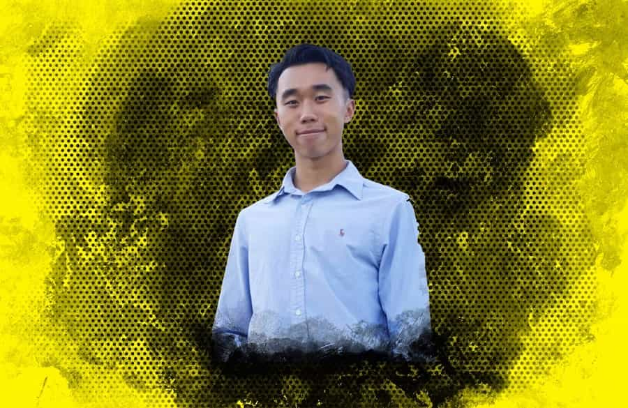 Laurence Liang, student president of Marianopolis College