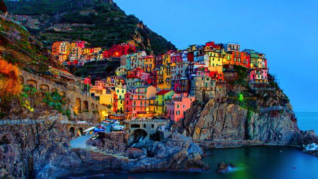 איטליה. טרק חמש האדמות