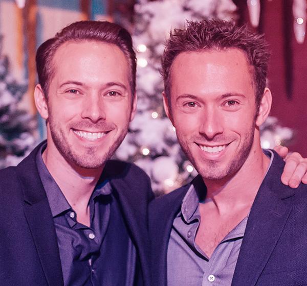 Founders Darren and Adam Fanton