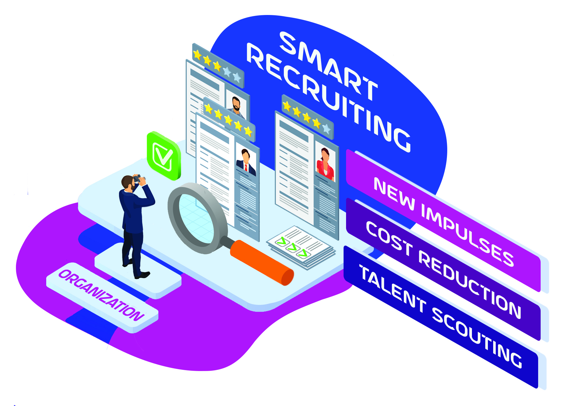 Smart Recruiting New Impulses Cost Reduction Talent Scouting