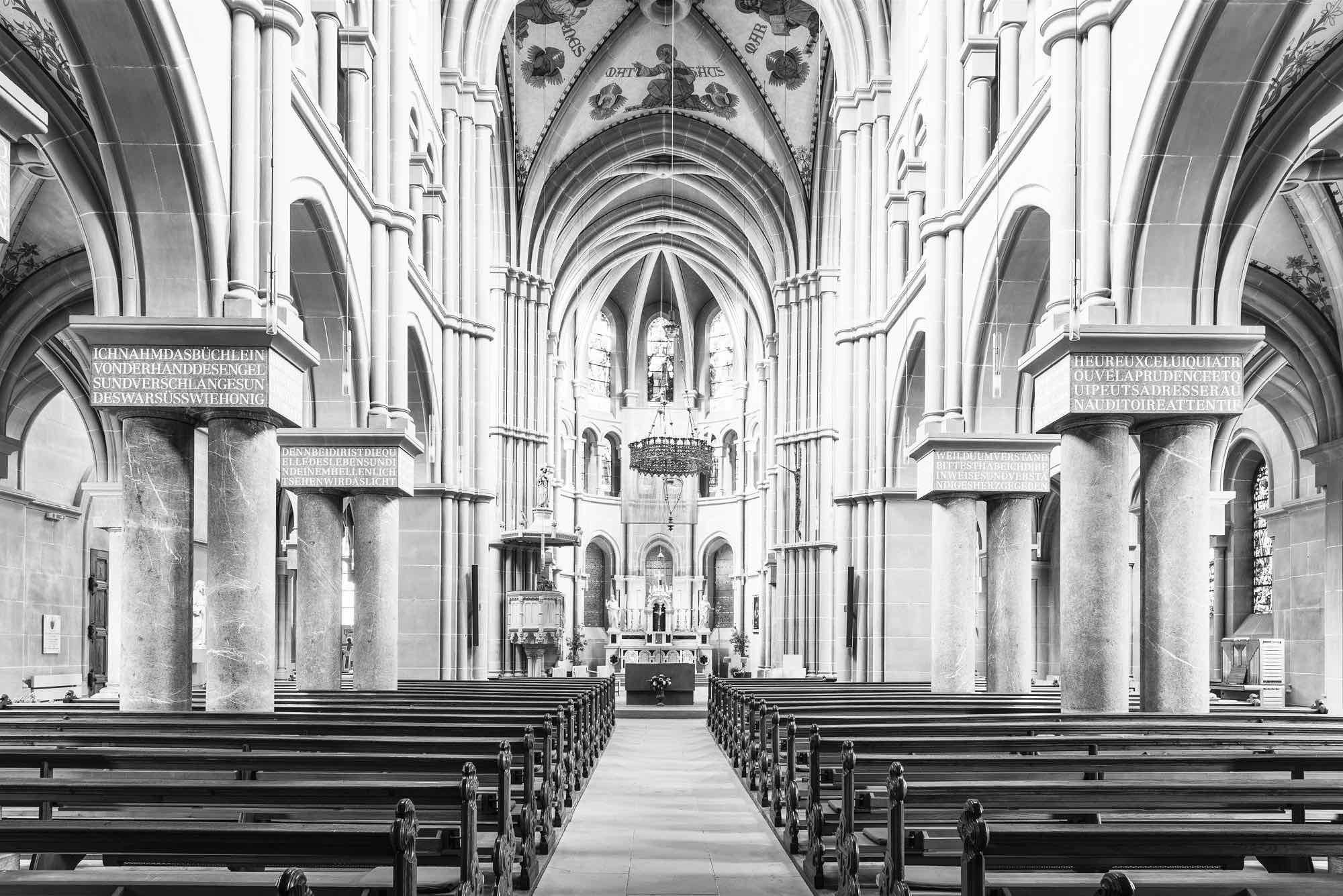 picture of inside of beautiful church space