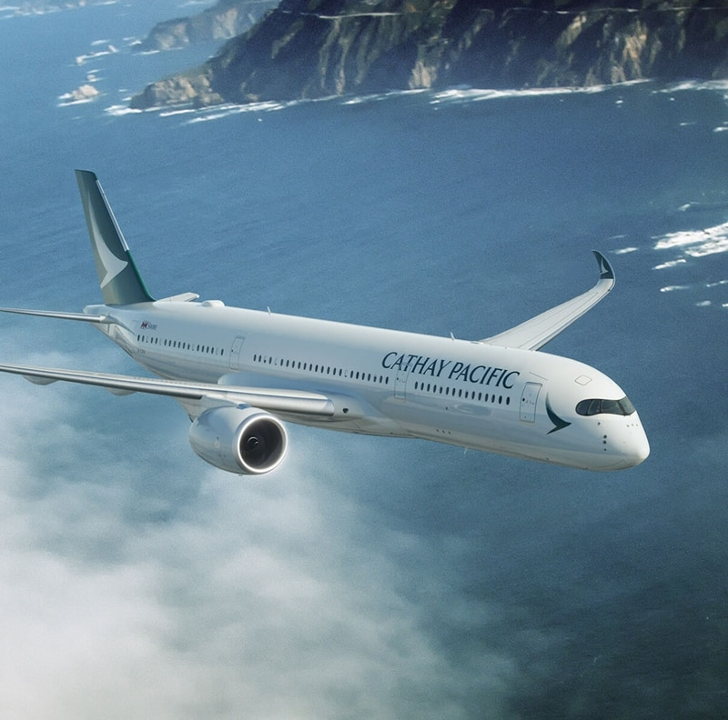 Lucky Draw Grand Prize by Cathay Pacific