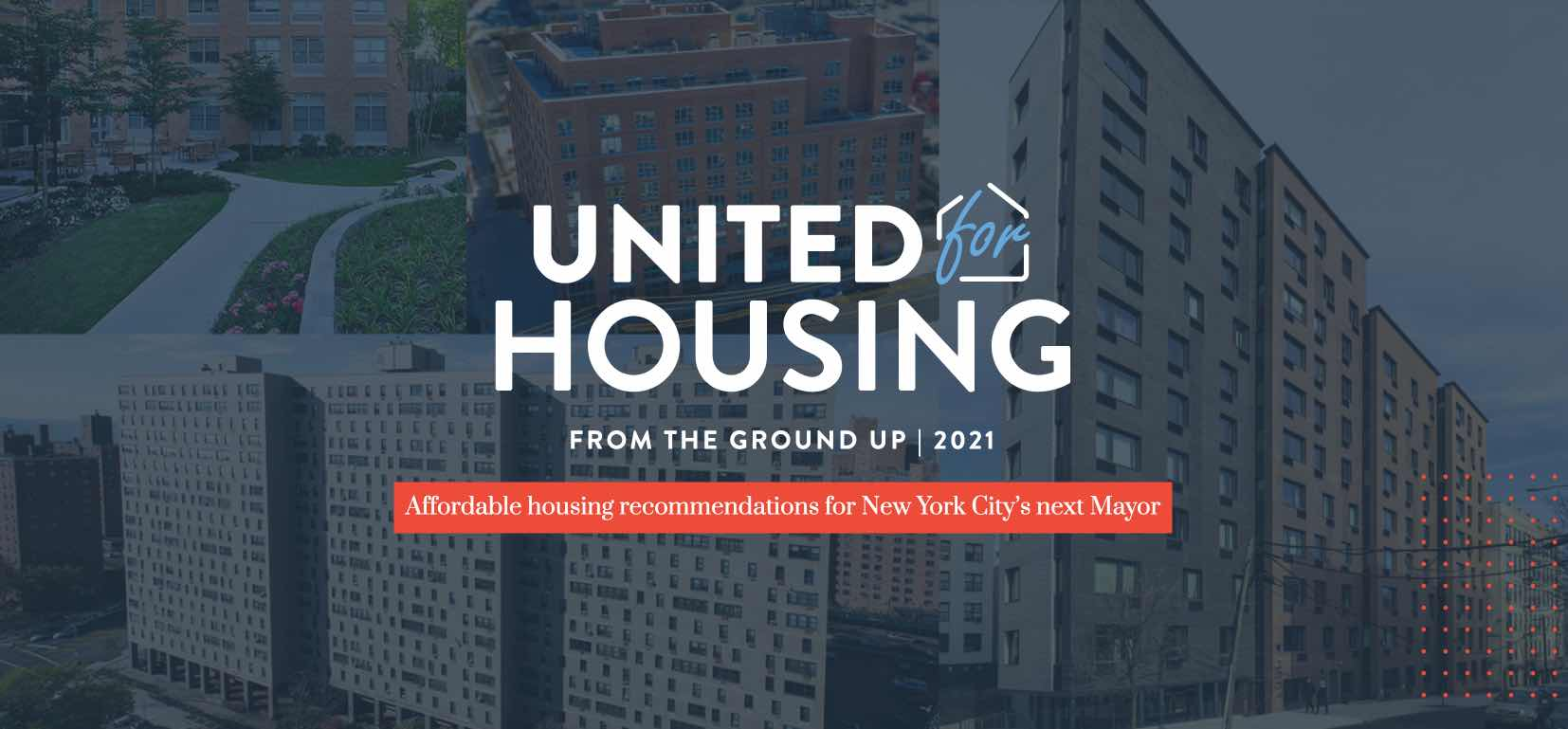 Sign up for United for Housing from the group up 2021