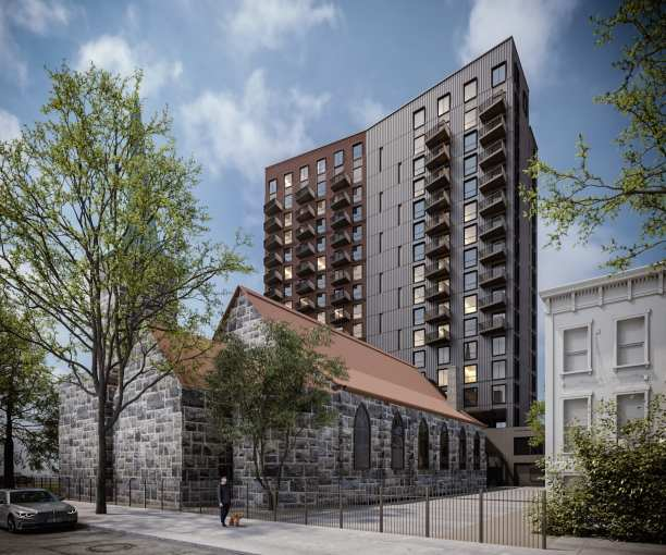 Quinlan Development Group is bringing 138 mixed income units to 230 Classon Avenue in Clinton Hill.