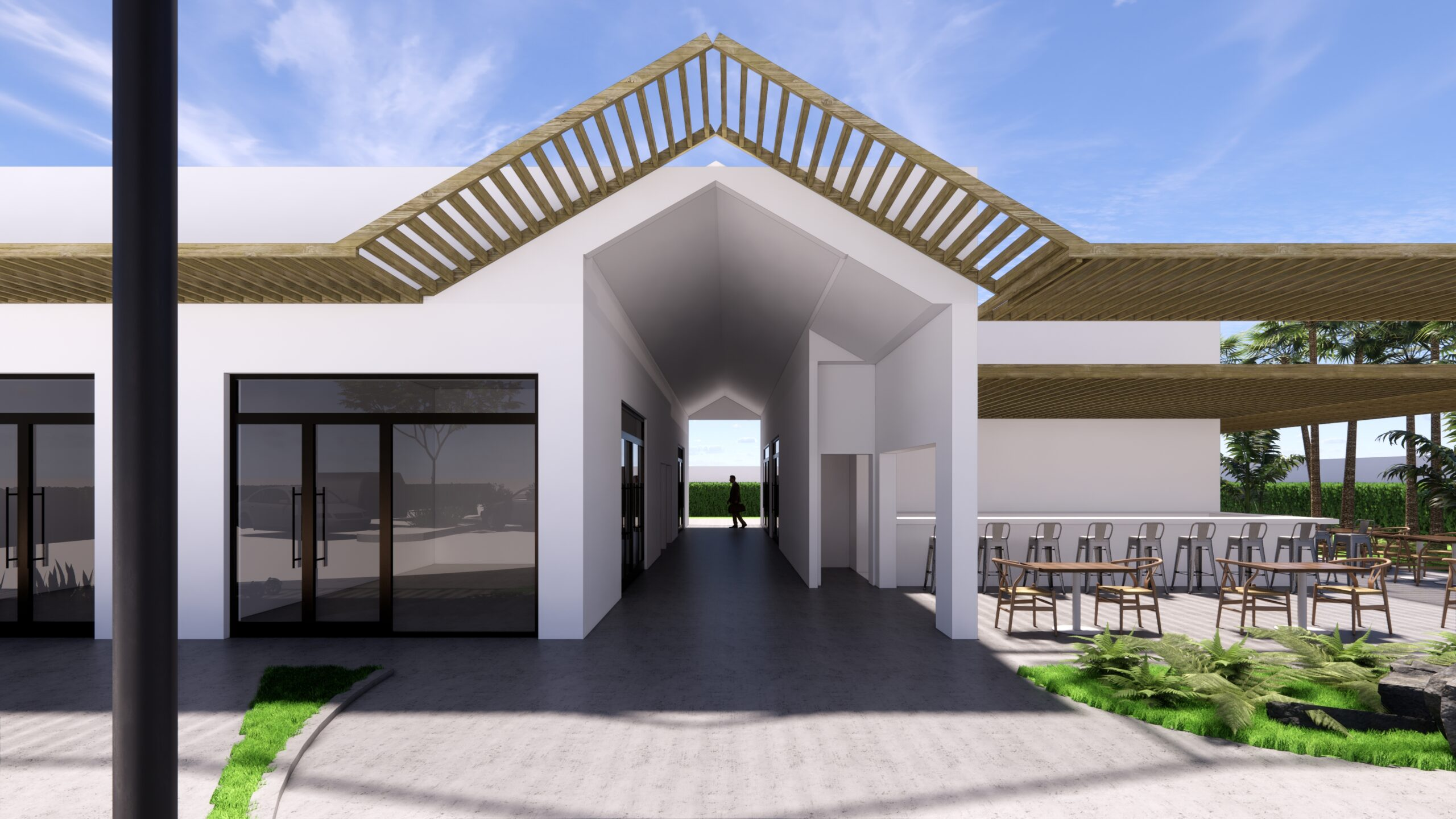 South Florida Church building readapted as commercial project (Fort Lauderdale, FL)