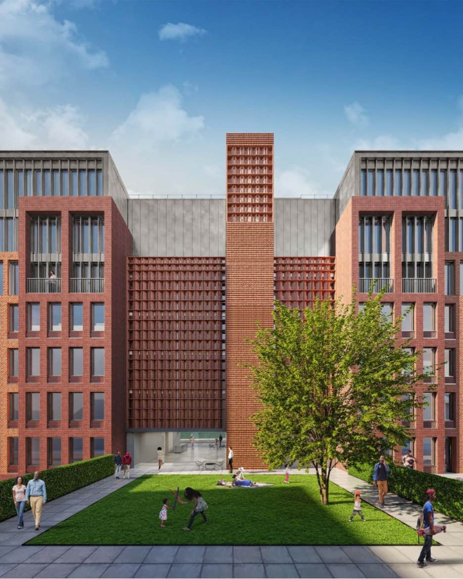 New York City's Landmark Preservation Commission (LPC) has approved plans for the development of two residential buildings on a lot shared by the landmarked Hebron Seventh Day Adventist School.