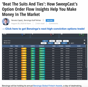 SweepCast Unusual Options Activity Platform