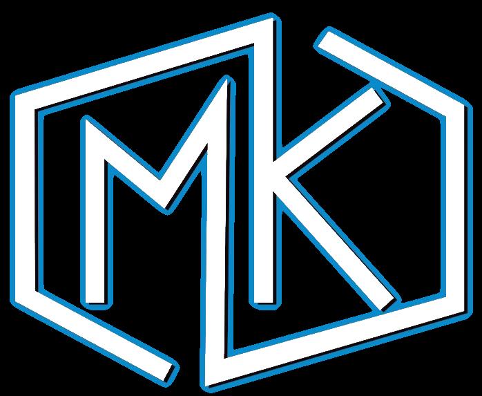 mk custom homes logo
