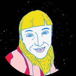 Ramona Estrella profile illustration