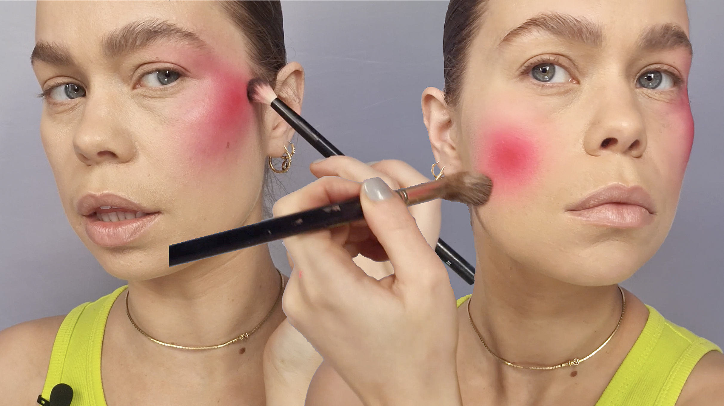 How-To Bright Blended Blush