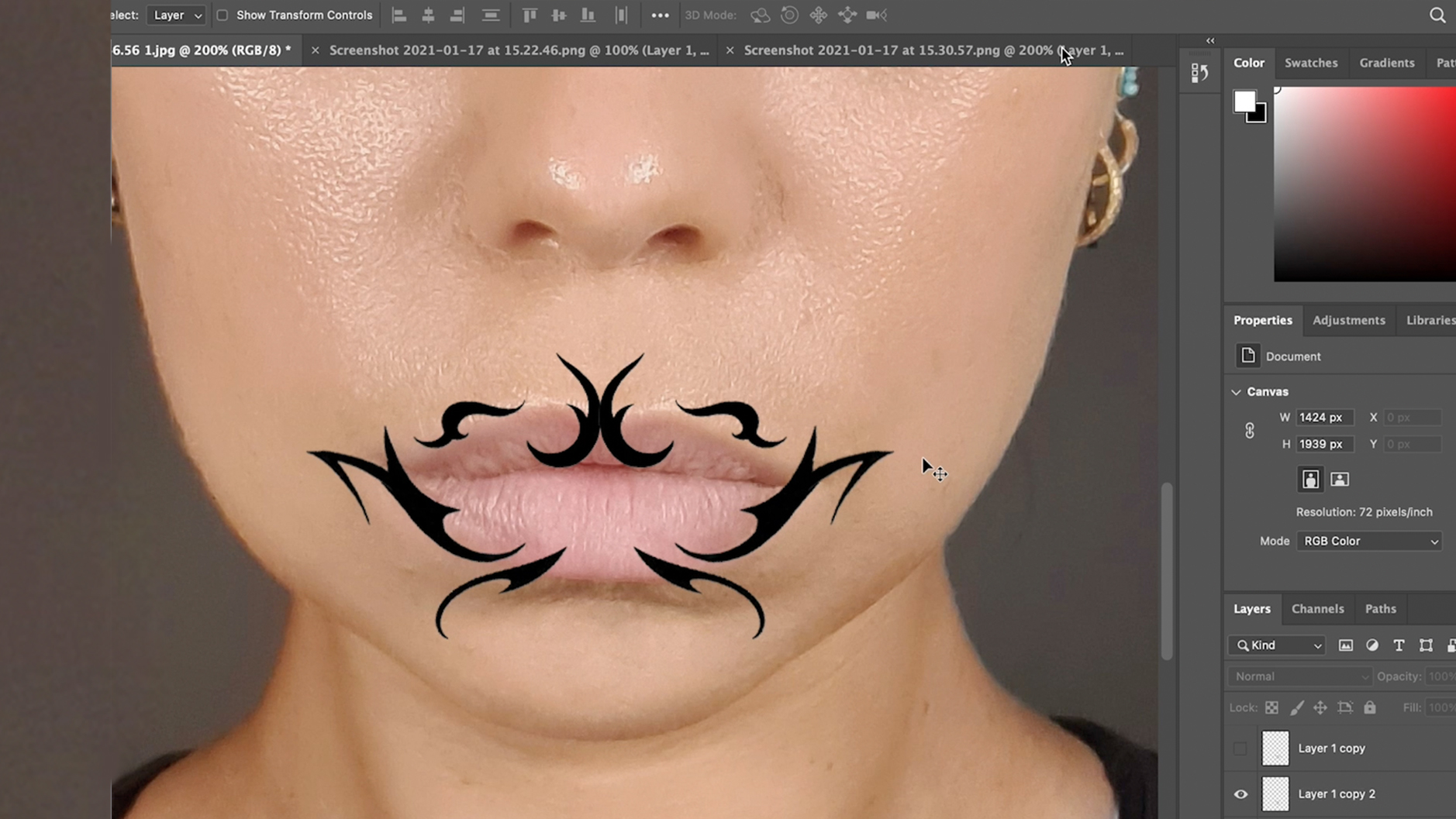 How-To Design Lip Art
