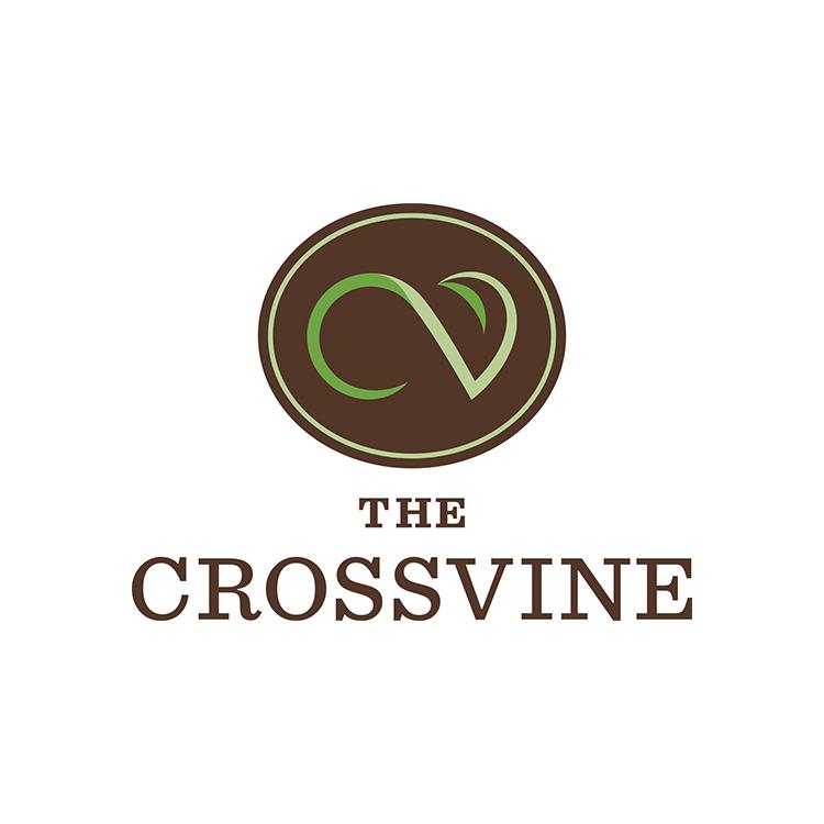 Logo of The Crossvine.