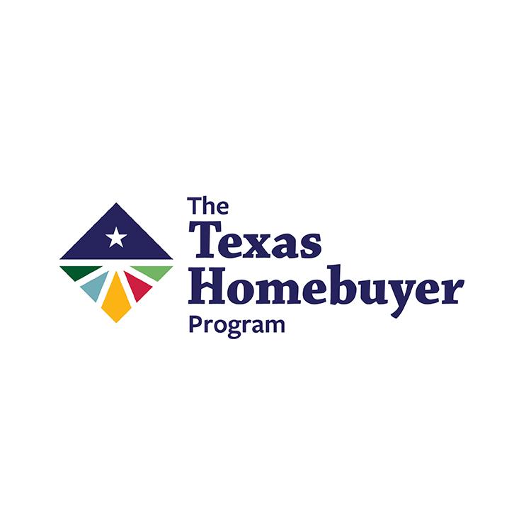 Logo of The Texas Homebuyer Program.