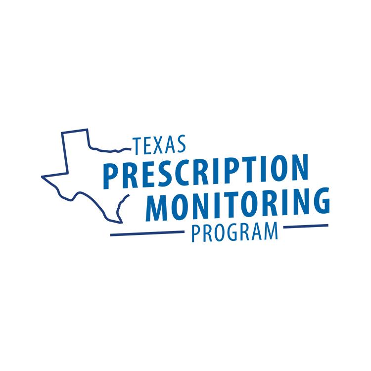 Logo of the Texas Prescription Monitoring Program.