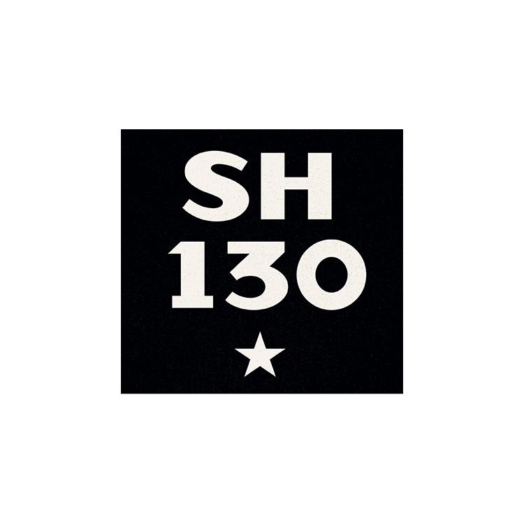 Logo of SH 130.