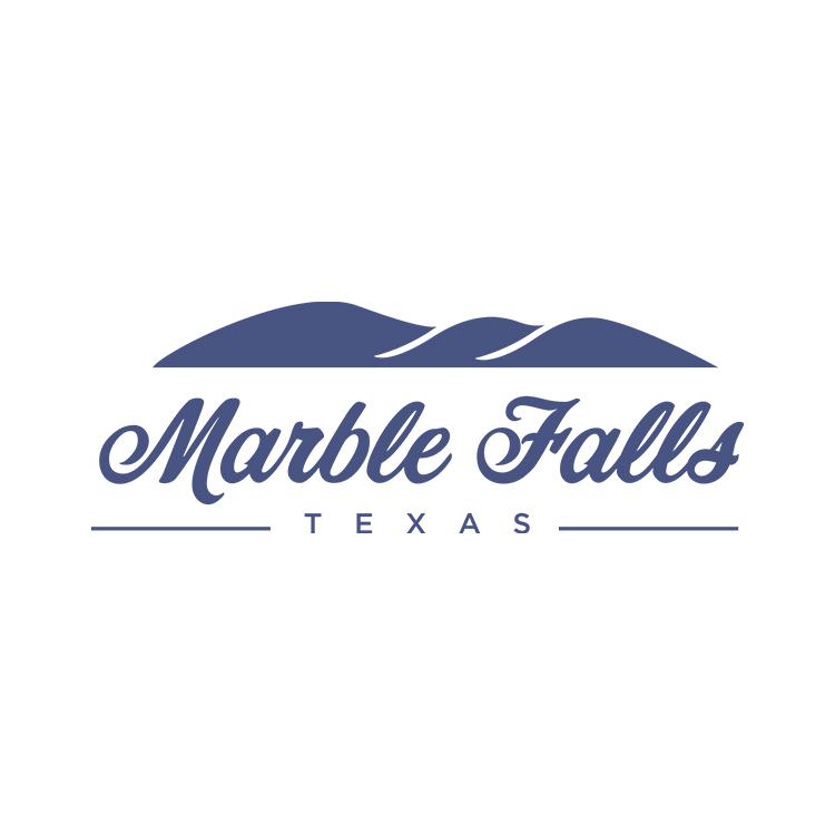 Logo of Marble Falls, Texas.
