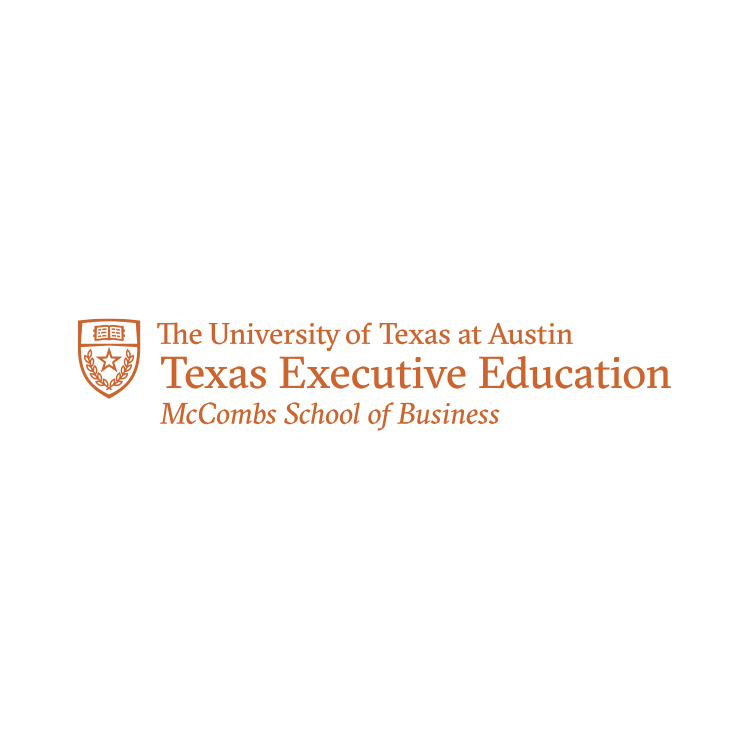 Logo of Texas Executive Education at The University of Texas at Austin McCombs School of Business.