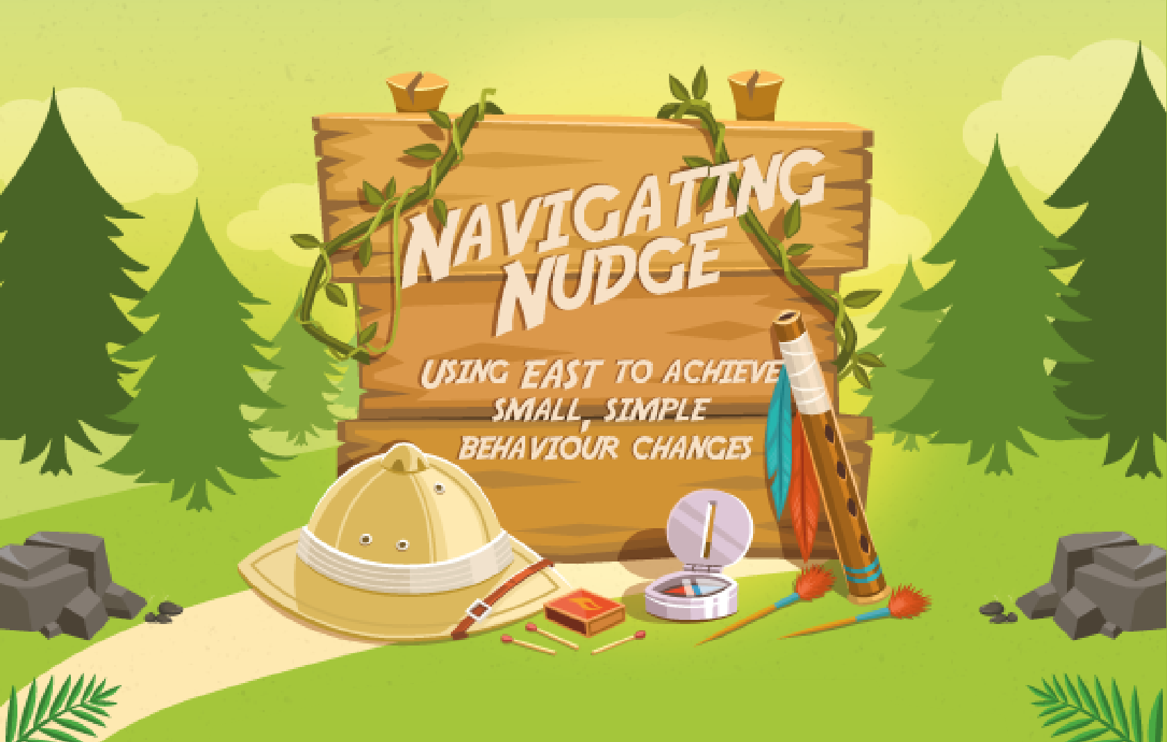 Alive With Ideas - Navigating Nudge Infographic