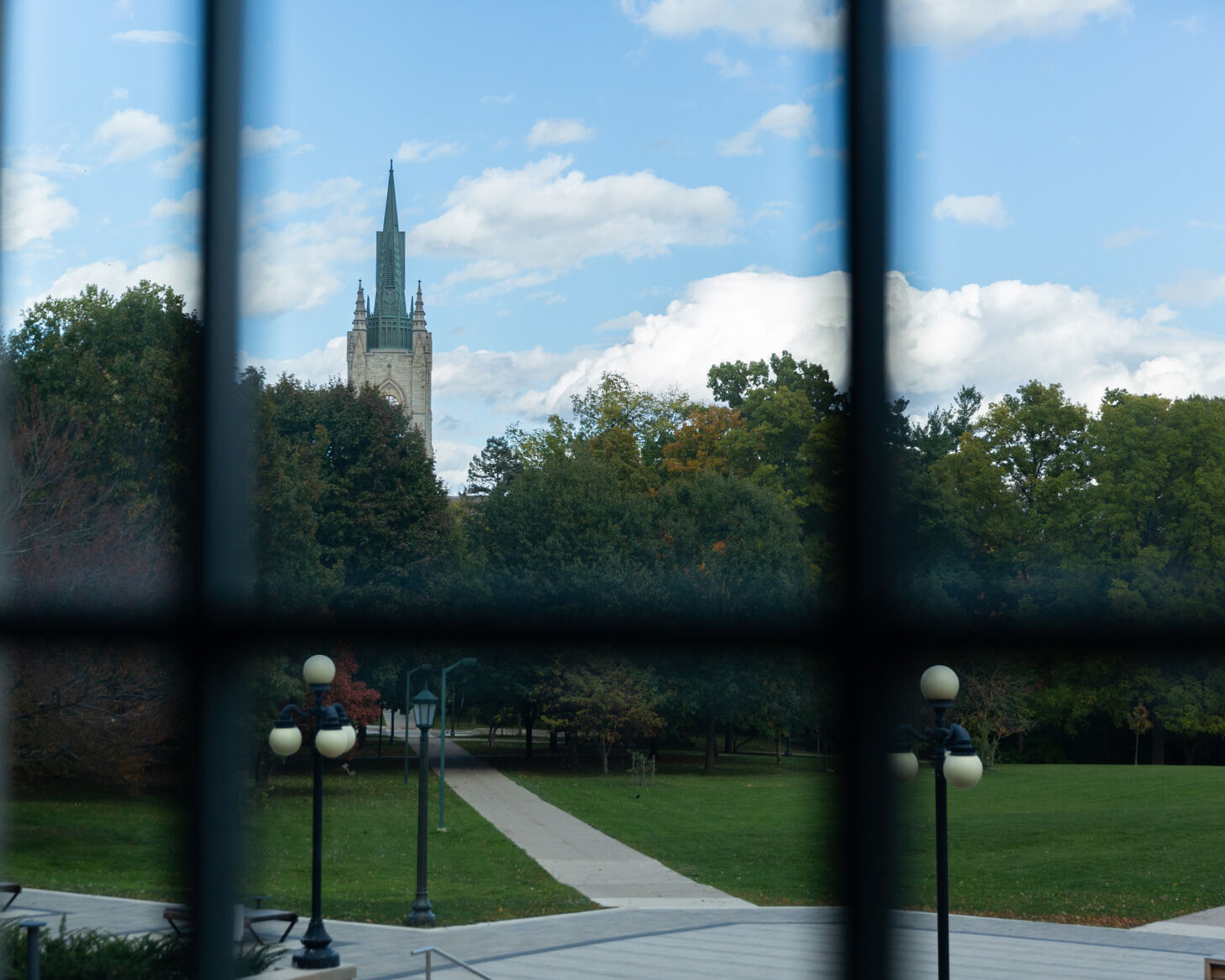 Middlesex College seen from University College.