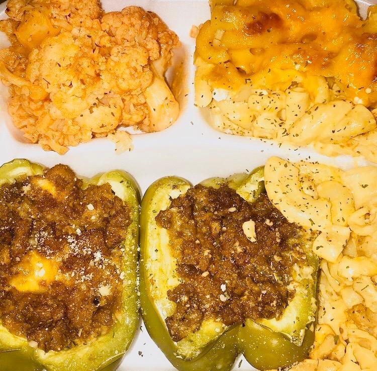 Stuffed Peppers Plate