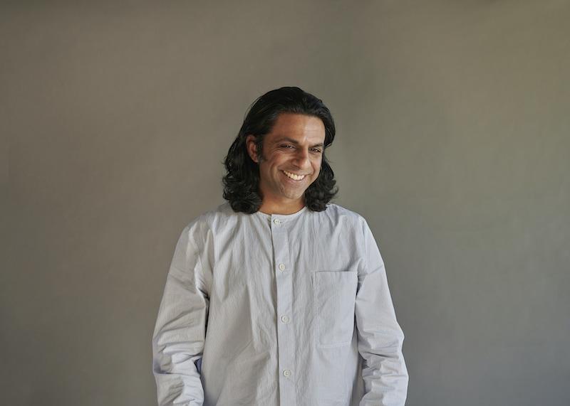 A portrait of Veeral Patel