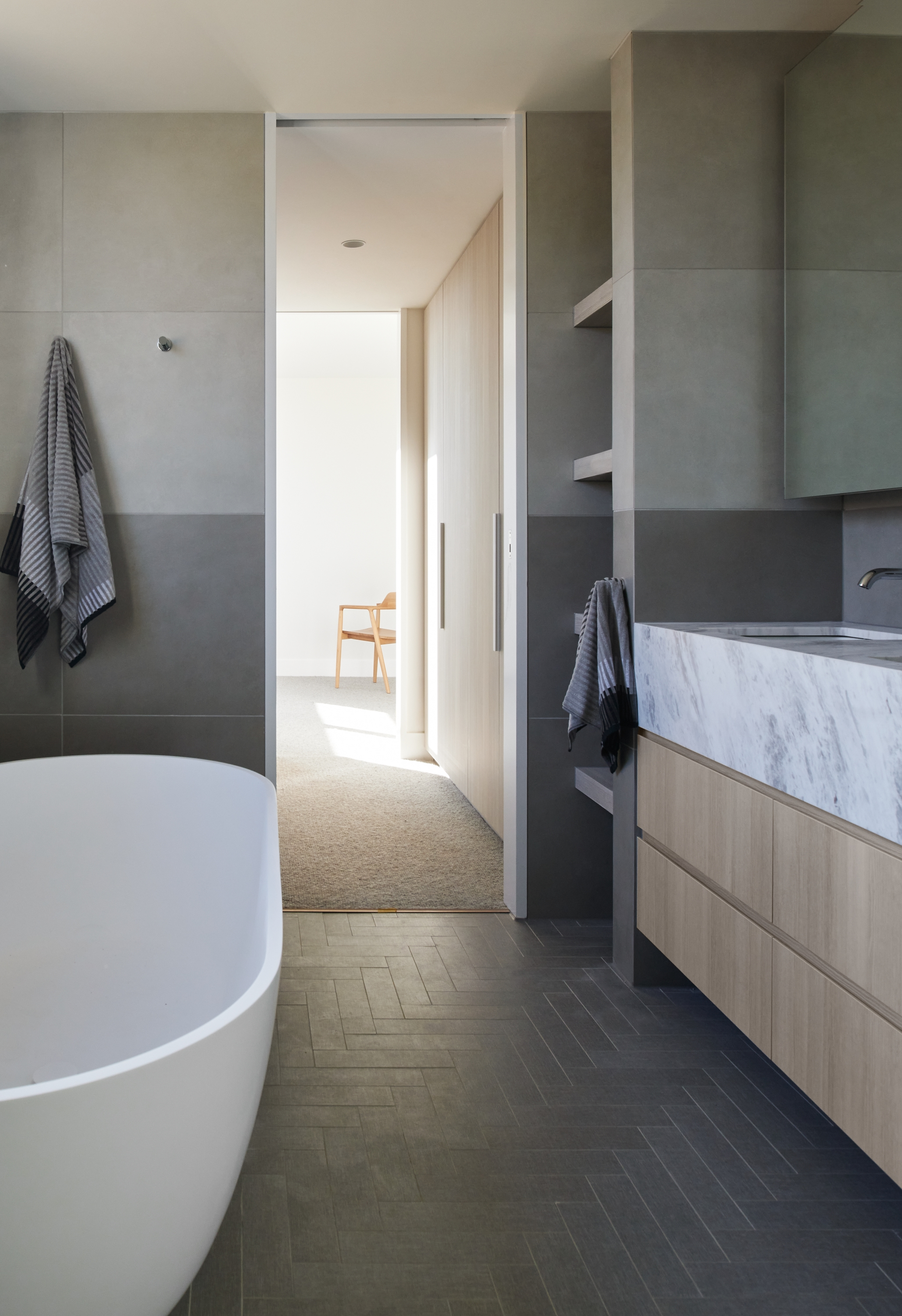 Wattletree Road Apartments whose architecture and interiors by  Bayley Ward Architects