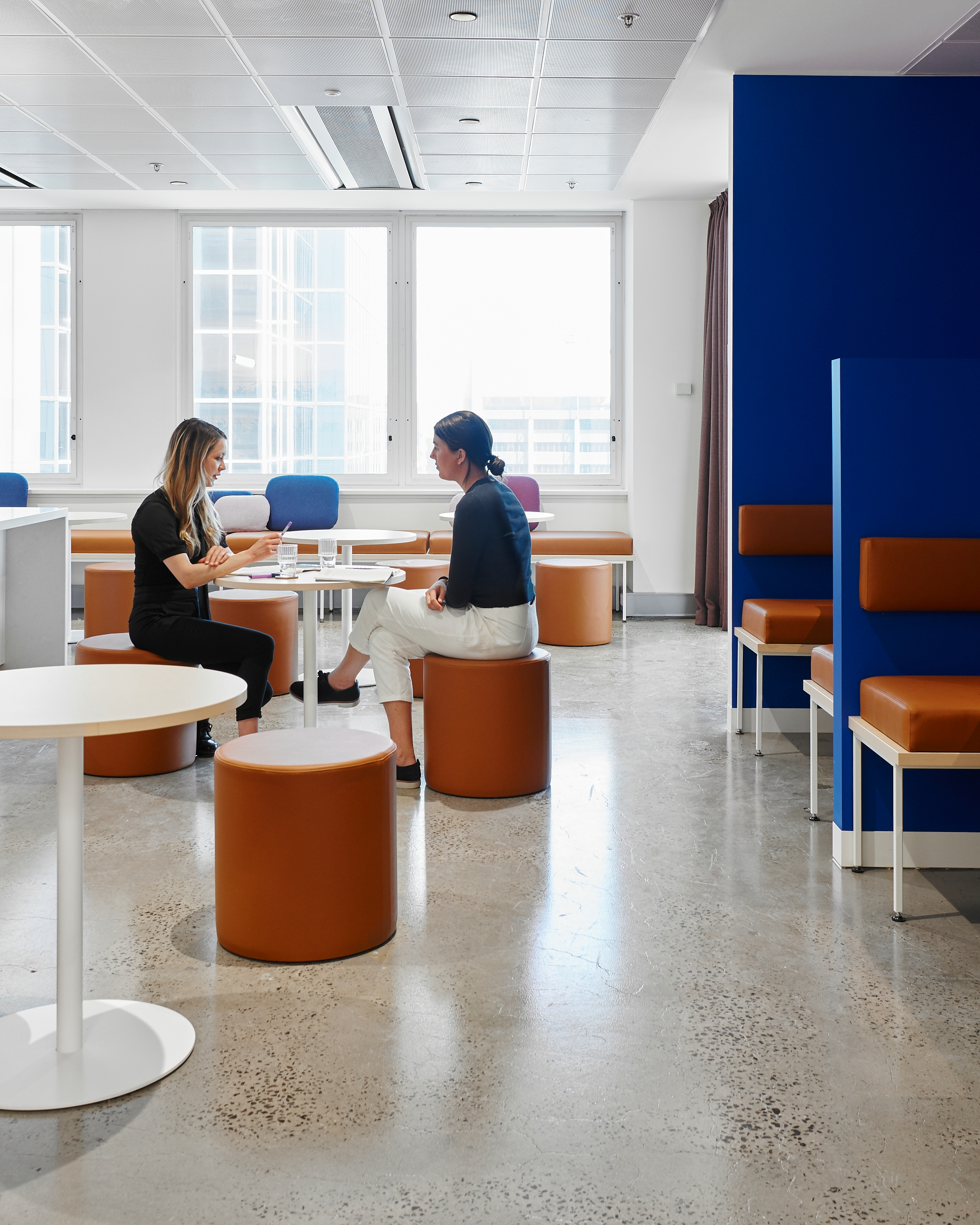 Prime Super  workplace interiors project by Studio 103 and McCormack