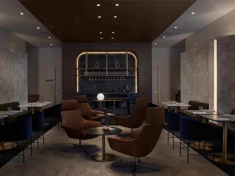 Adelaide Pullman Executive Lounge, interior design by Woods Bagot