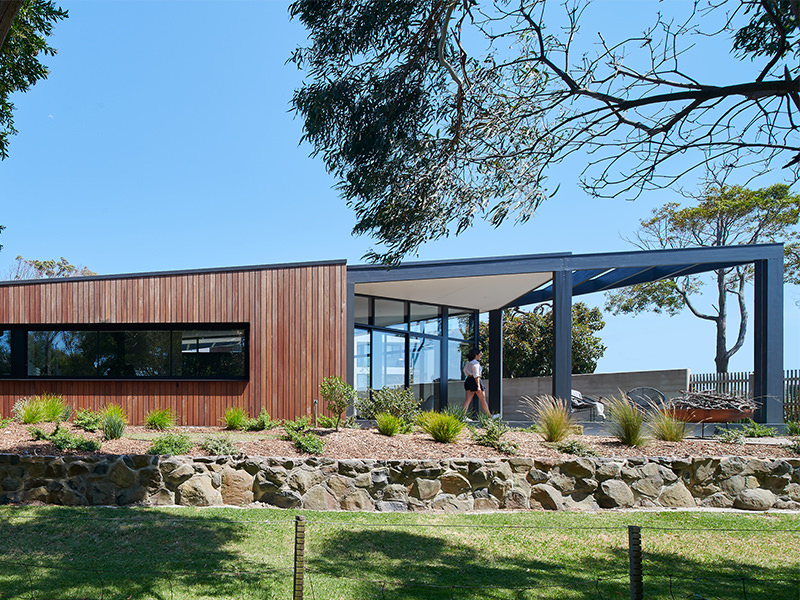 Inverloch is a residential project, architecture by Planned Living Architects