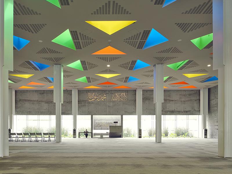 The Australian Islamic Centre of Newport, architecture designed by Pritzker award winning architect, Glenn Murcutt, and Hakan Elevli (Elevli Plus).