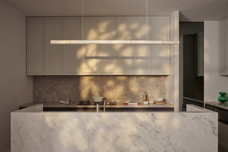 Halcyon Lane is a multi residential project. Architecture and interiors are designed by Bruce Henderson Architects.