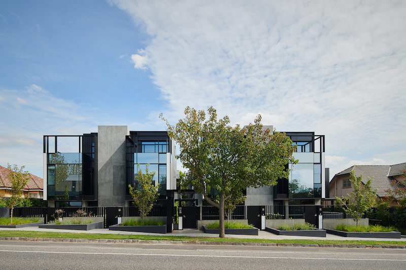 107 Darling Road Multi-Residential project. Architecture and Interiors by Bruce Henderson Archiects