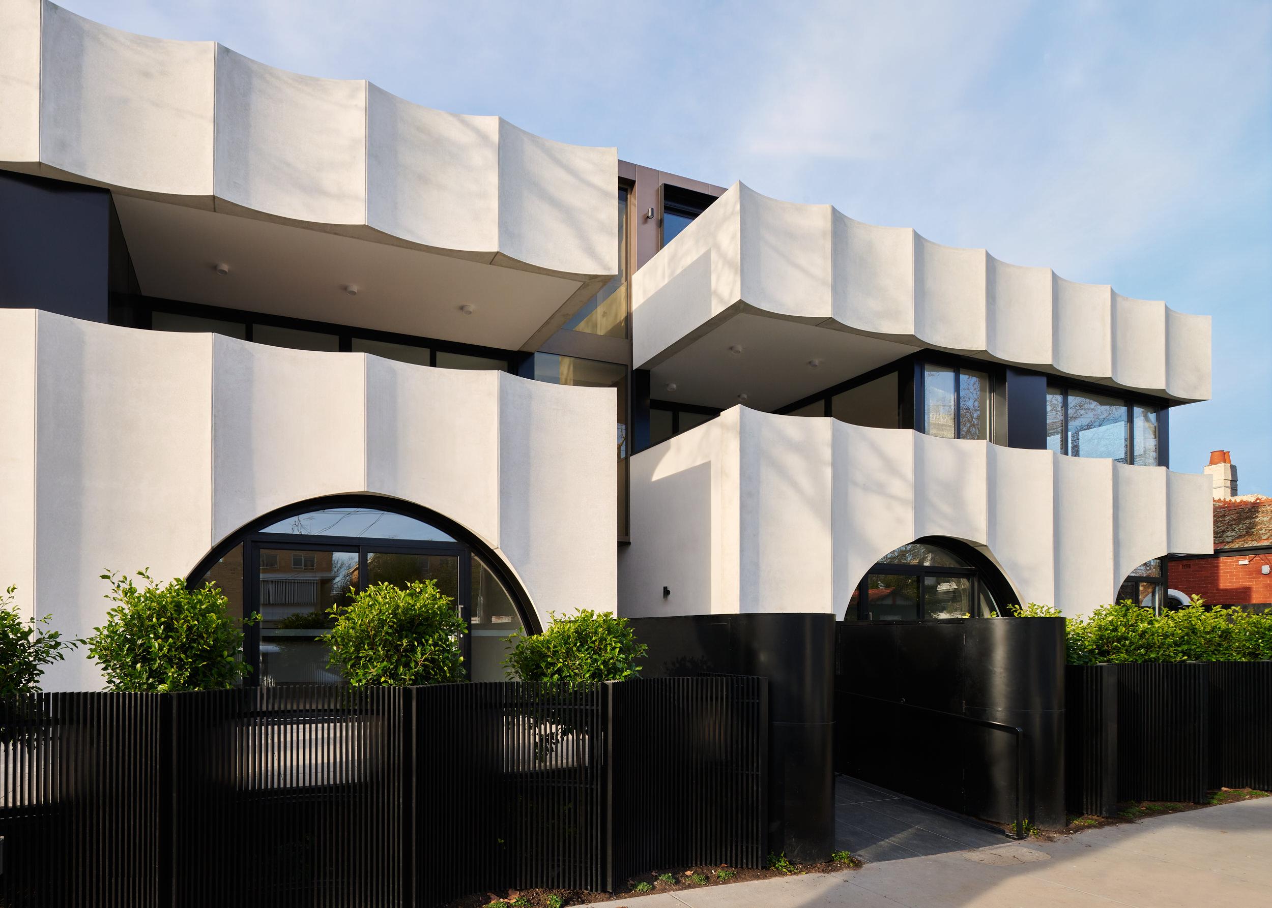 Ensemble Elwood Apartments designed by Kavellaris Urban Design