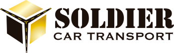 Soldier Car Transport Logo