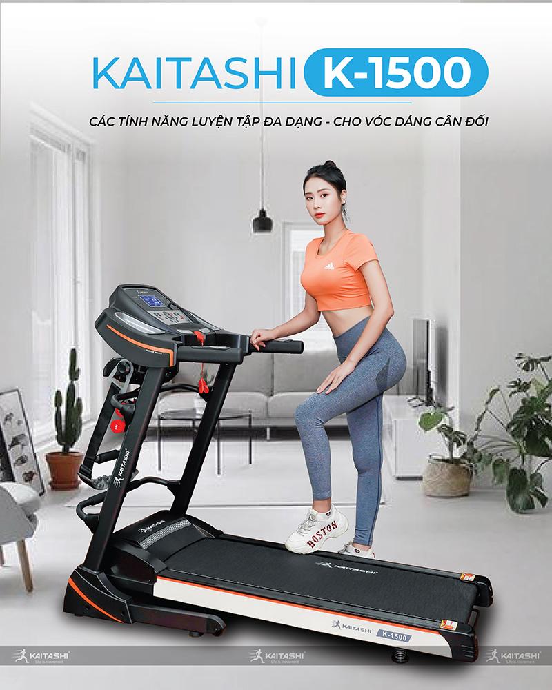 Máy Chạy Bộ Kaitashi K-1500