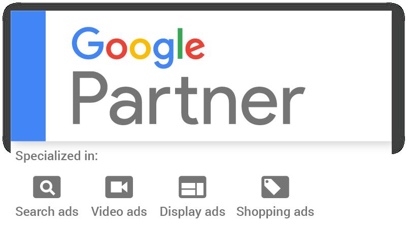 Das Google Marketing Partner Siegel.