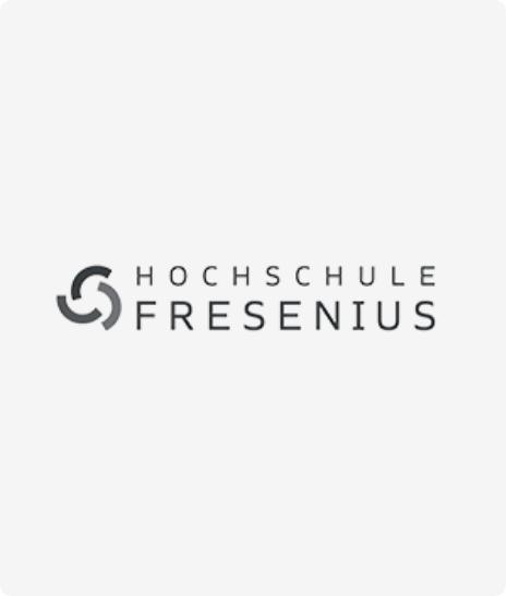 Das Logo der HS Fresenius.