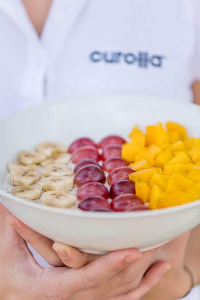 Cuenco de fruta saludable