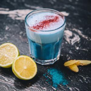 Creativity Blue Latte