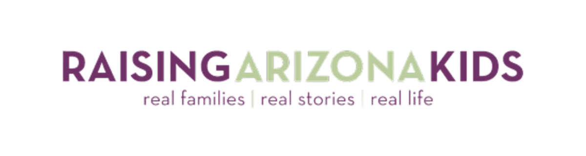 Raising arizona kids logo.